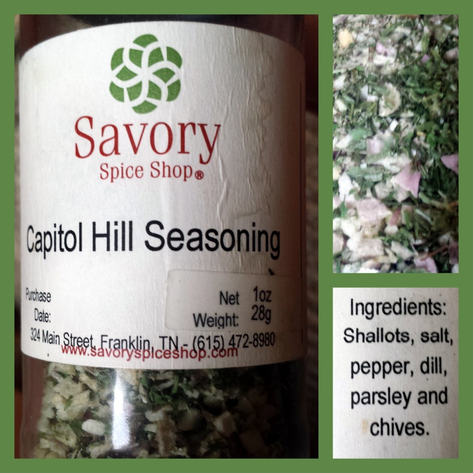 Capitol Hill Seasoning mix from Savory Spice Shop #vegprodrev #veganmofo #vgnmf15