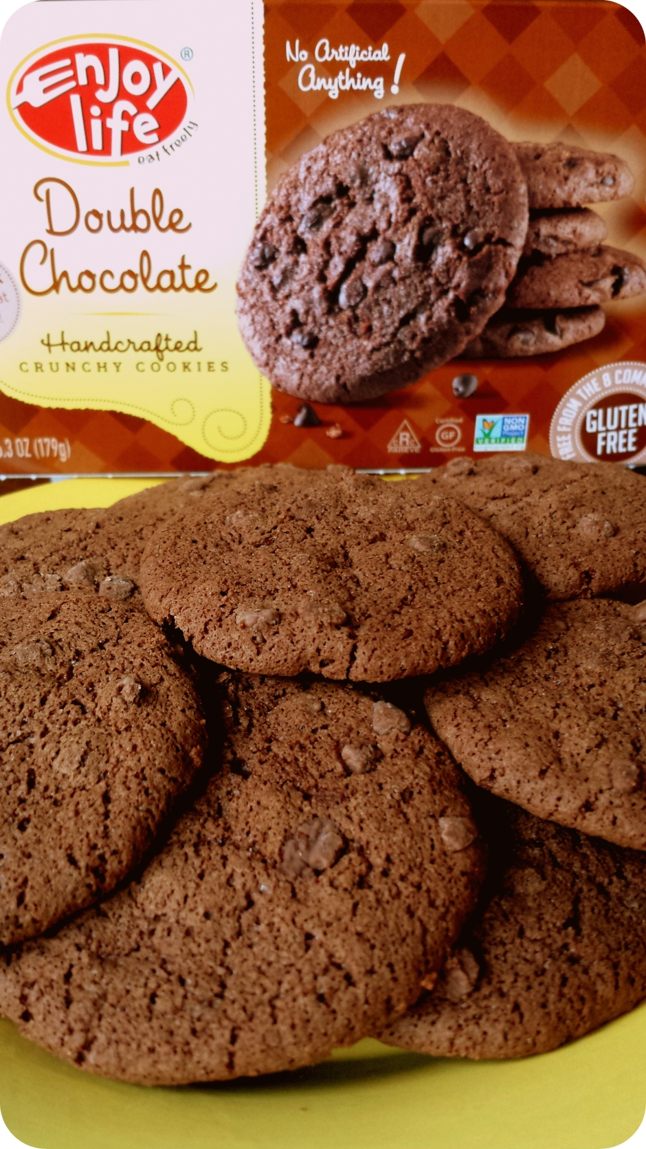 C is for Cookie - Enjoy Life gluten-free, vegan double chocolate