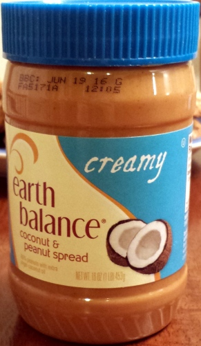 Earth Balance Coconut & Peanut Spread