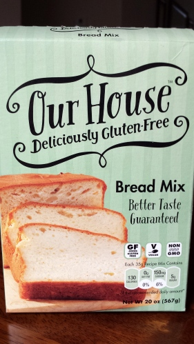 Our House Gluten Free Bread Mix