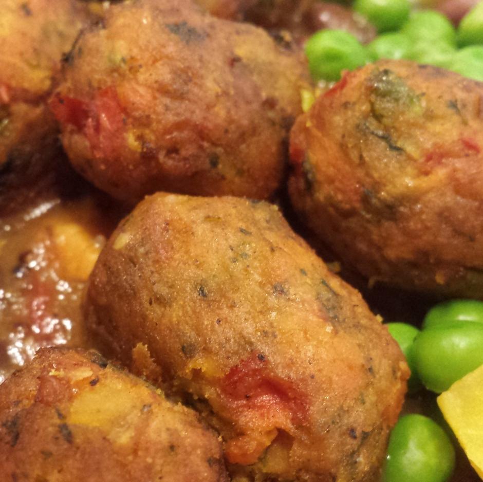 GRÖNSAKSBULLAR (veggie balls) from Ikea. #ikea #vegprodrev #vegan #glutenfree #soyfree