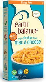 Earth Balance Mac N Cheese box