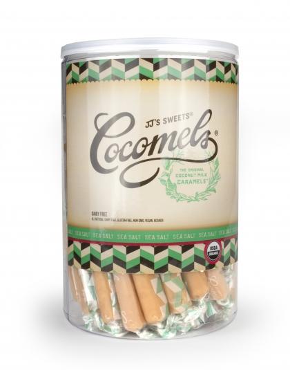 Sea Salt Cocomels. Non-dairy Caramels