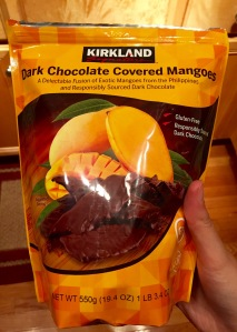 Dark Chocolate Covered Mangoes Package