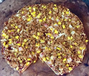 bbq chickn pizza