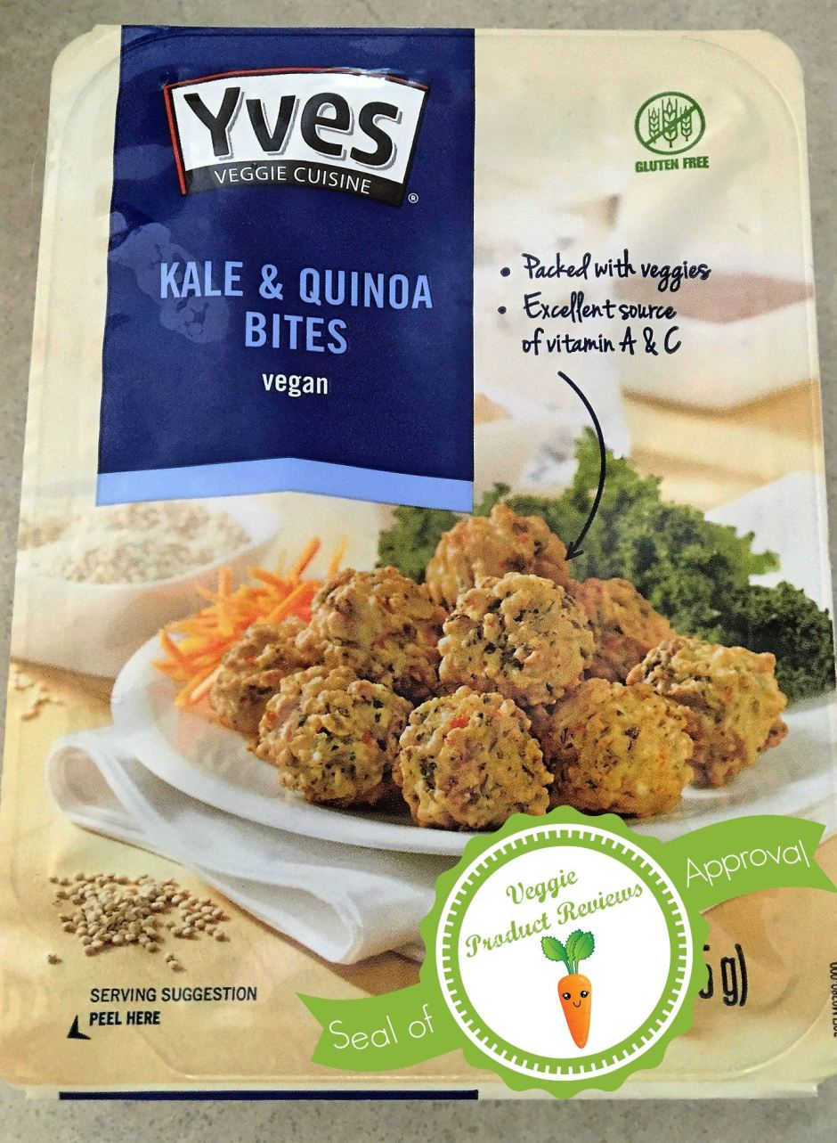 Kale Bites with seal of approval