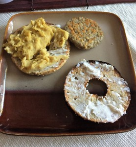 plate with cooked NYPT scramble