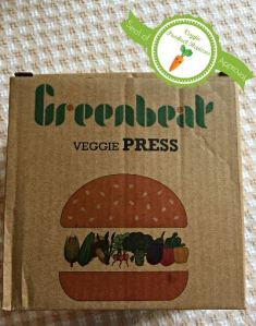 greanbeat burger press box with seal