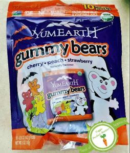 YumEarth gummy bear package