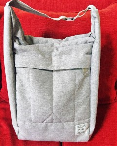 front view of bag